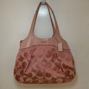 Coach Lexi Begonia Large Bag in Light Pink